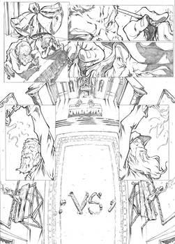 Page 1 - Michelangelo vs Leonardo Comic