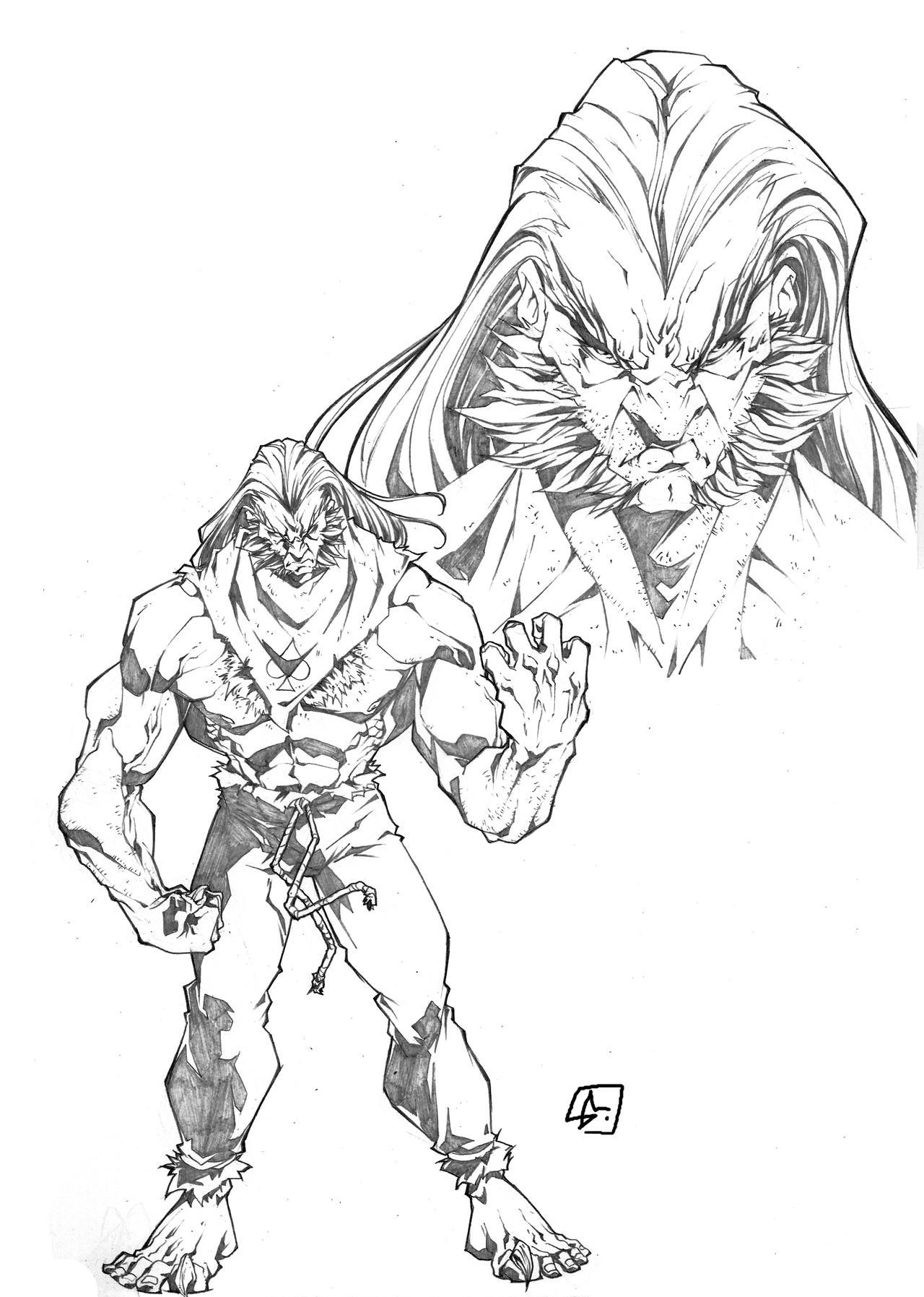 Deviantart Character Design Commission : Lion character design commission by marvelmania on deviantart
