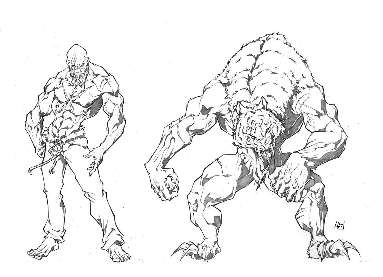 Deviantart Character Design Commission : Tiger character design commission by marvelmania on deviantart