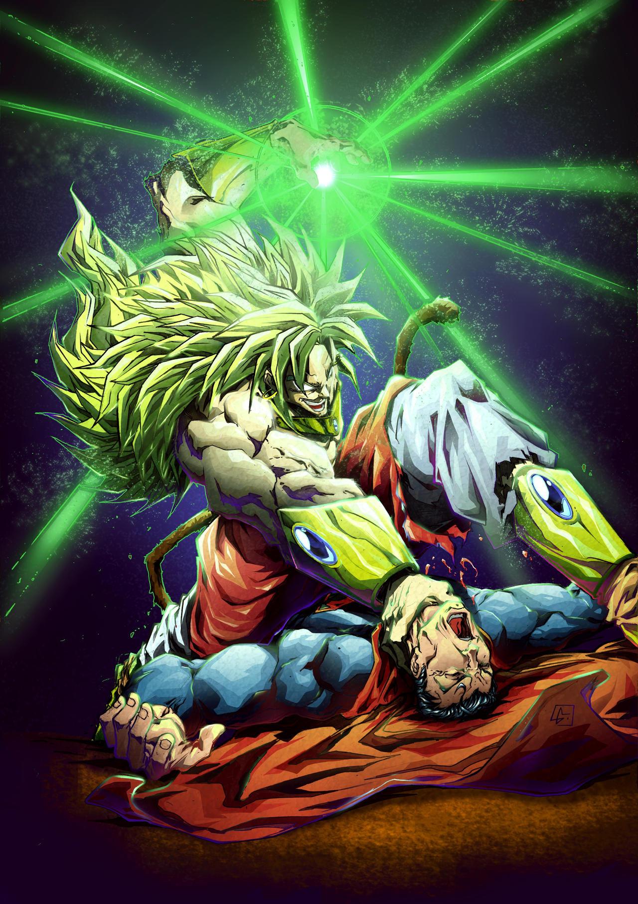 goku ssj3 vs superman - photo #12