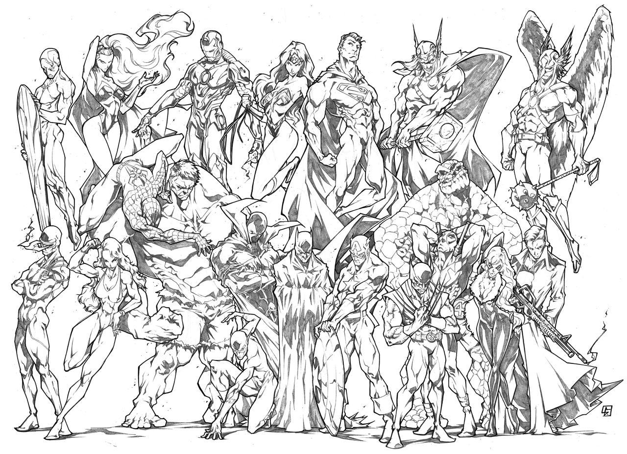 my favorite american heroes by marvelmania on deviantart