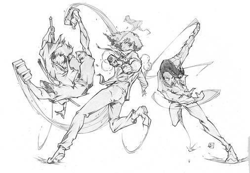 Mugen, Spike and Dandy