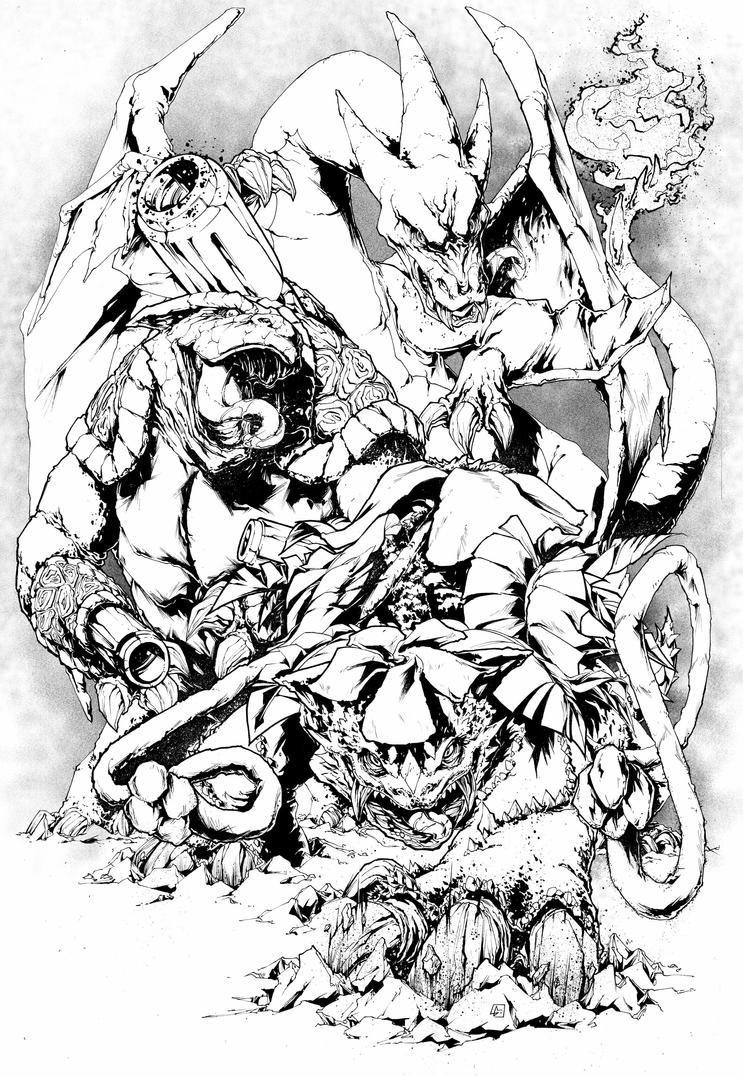 Pokemon First Mega Evolution Starters by marvelmania