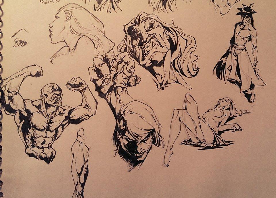 Doodling by marvelmania