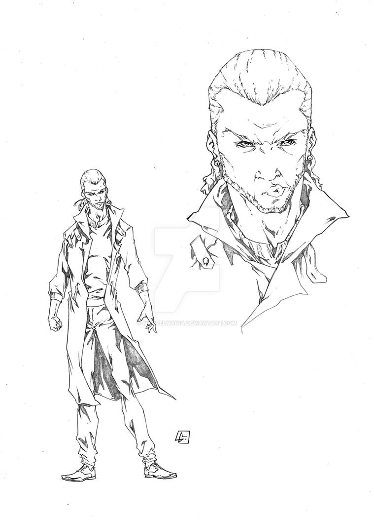 Phillip Lyles character by marvelmania