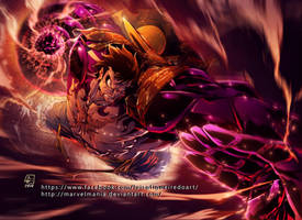 Luffy Gear4 color