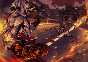 Shishio vs Kenshin colors