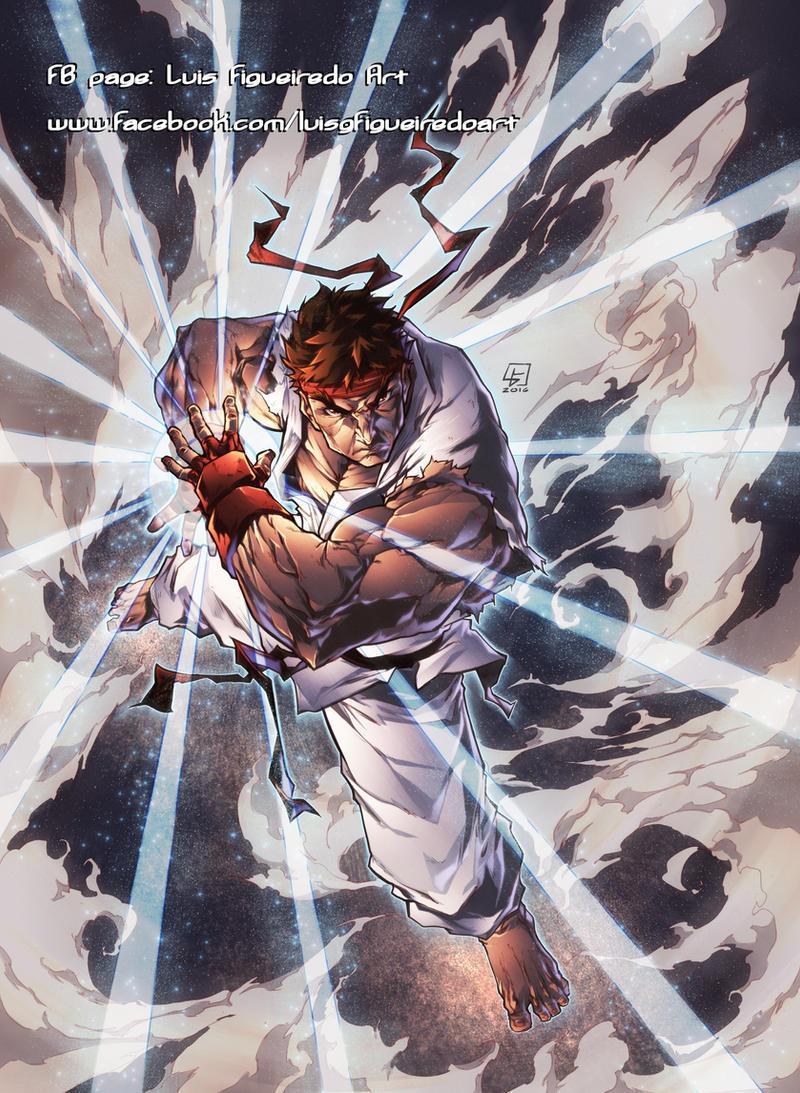 Hadouken Ryu From Street Fighter By Marvelmania On Deviantart
