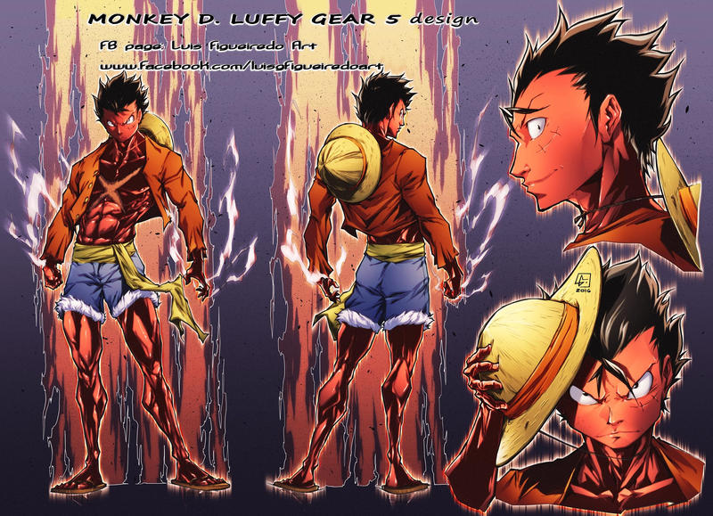 Monkey D Luffy Gear 5 Design By Marvelmania On Deviantart Luffy shows his gear 4 to rayleigh, rayleigh vs gear 4 luffy, luffy's training, one piece ep 870. monkey d luffy gear 5 design by