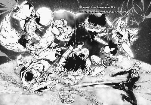 ONE PIECE ALL TOGETHER - MUGIWARA CREW