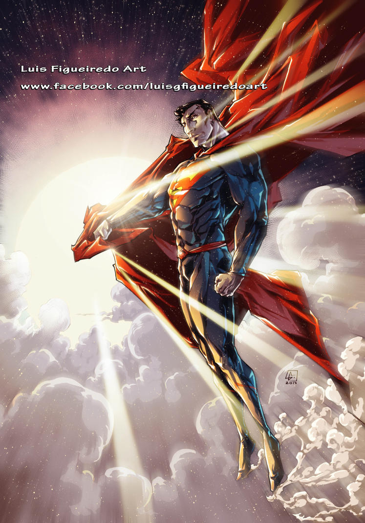 SUPERMAN colored by marvelmania
