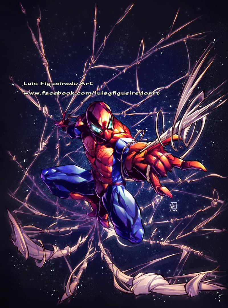 Spiderman Tshirt Design COMMISSION by marvelmania