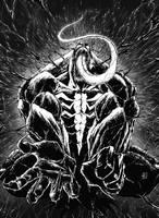Venom commission by marvelmania