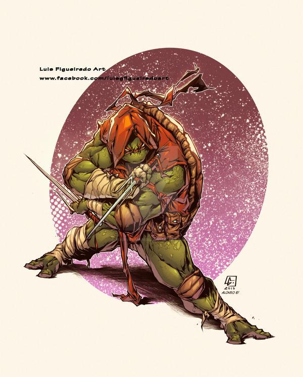 TMNT Raphael colors by marvelmania