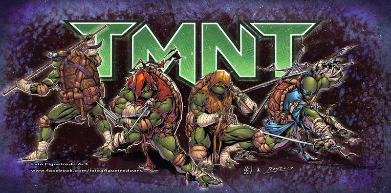 TMNT - Teenage Mutant Ninja Turtles by marvelmania