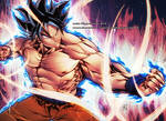 GOKU NEW FORM COLORED version