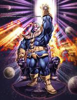 THANOS Commission t Shirt by marvelmania