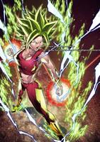 KEFLA Super Saiyan 2 colors by marvelmania