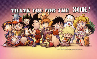 THANK YOU ALL FOR THE 30K by marvelmania