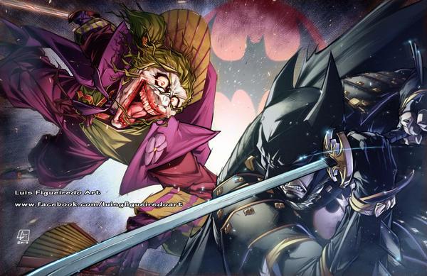 Joker Ninja Vs Batman Ninja By Marvelmania On Deviantart