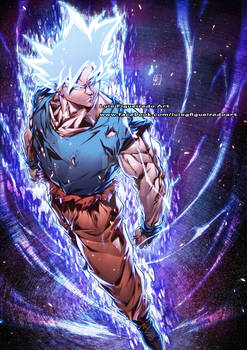 GOKU PERFECT INSTINCT  Dragon Ball