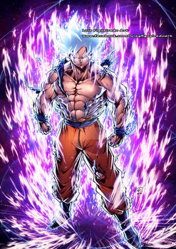 GOKU ULTRA INSTINCT SILVER from Dragon Ball