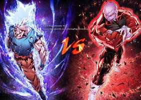 GOKU vs JIREN from Dragon Ball Super by marvelmania