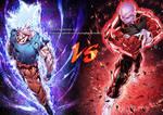GOKU vs JIREN from Dragon Ball Super