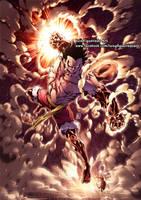 LUFFY GEAR 4 SNAKEMAN from One Piece