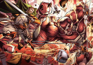 ATTACK ON TITAN Birthday gift Commission color