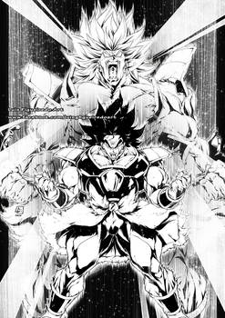 NEW BROLY for the coming up MOVIE