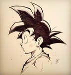 GOKU from DRAGON BALL commission