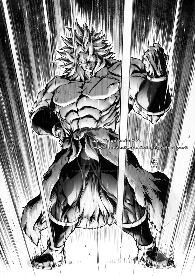 NEW BROLY SS2 the strongest super saiyan by marvelmania
