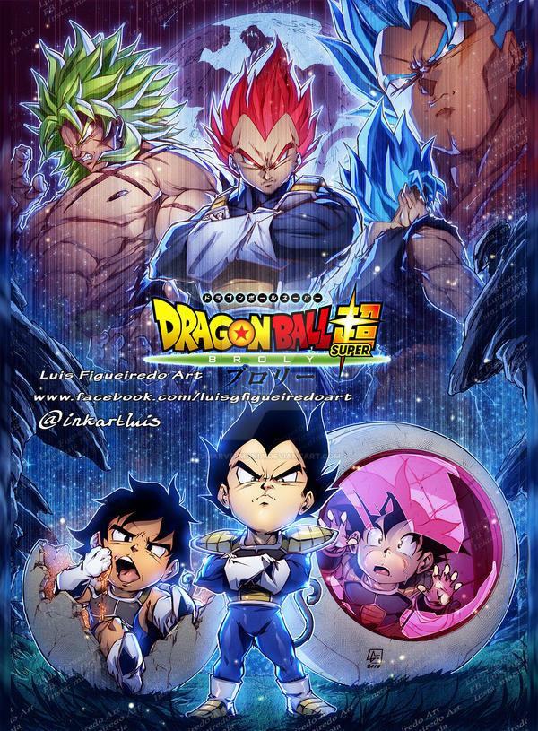 Dragon Ball Super Broly Movie Tribute By Marvelmania On Deviantart