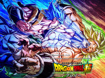 GOGETA Punch BROLY - from Dragon Ball by marvelmania