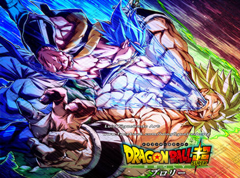 GOGETA Punch BROLY - from Dragon Ball