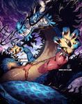 Kaido Dragon Transformation blue