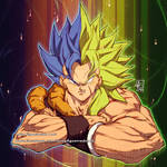GOGETA and BROLY   PIN commission