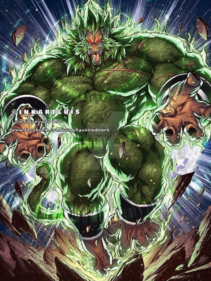 OOZARU BROLY SSj from Dragon Ball by marvelmania