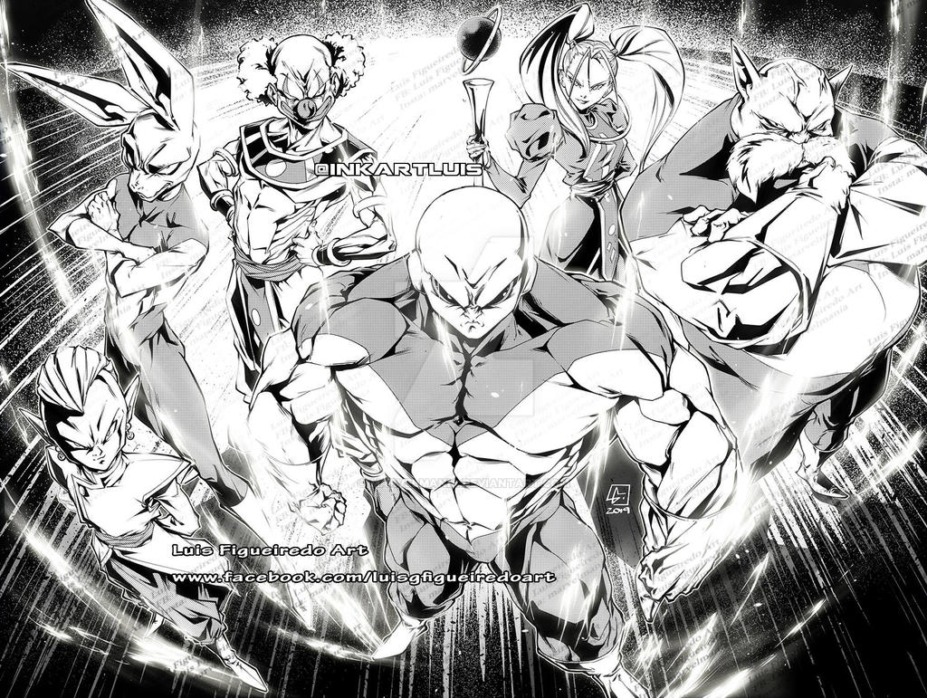 UNIVERSE 11 from Dragon Ball Super by marvelmania