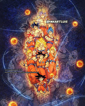 GOKU's FORMS DRAGON BALL
