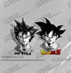 Goku my style vs real one