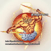 LOGO COMMISSION - ZEUS with THUNDERS