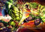 W.W.HULK (Marvel) vs BROLY(DragonBall)