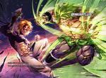 MELIODAS (Nanatsu) vs BROLY(DragonBall)