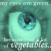 . green eyes . by cyrellaxicons
