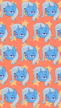 Trixie Wallpaper (Red)