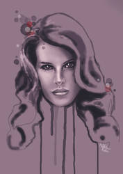 Lana Del Ray by Milda-Koles