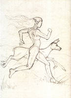 The race - sketch by Narsilia