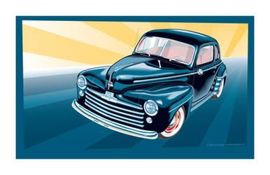 1948 Ford by MercenaryGraphics